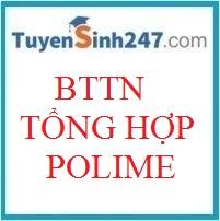 BTTN tổng hợp polime