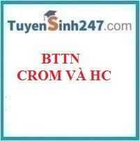 BTTN crom và hợp chất của crom