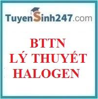 Bài tập trắc nghiệm lý thuyết halogen