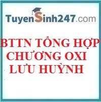 BTTN tổng hợp chương oxi - lưu huỳnh