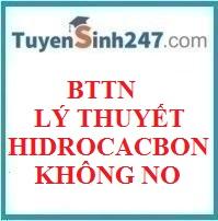 BTTN lý thuyết hidrocacbon không no