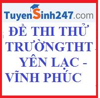 Đề thi khảo sát chất lượng môn Sinh học lớp 12 trường THPT Yên Lạc Vĩnh Phúc năm học 2015 - 2016