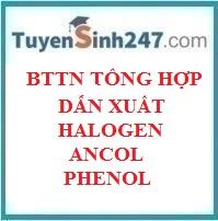 Bài tập tổng hợp dẫn xuất halogen - ancol - phenol