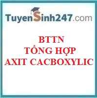 BTTN tổng hợp axit cacboxylic