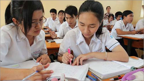 Đề thi giữa học kì 2 môn Anh lớp 9 – THCS Yên Phương 2016