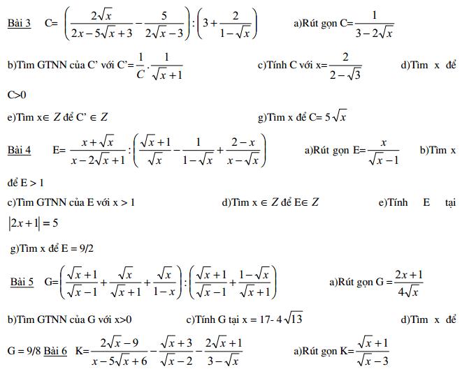 500 bài toán ôn luyện thi vào 10 đầy đủ theo từng chuyên đề
