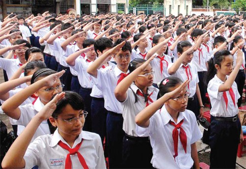 Đề thi giữa kỳ 1 môn Toán lớp 1 năm 2015 Tiểu Học Quang Huy