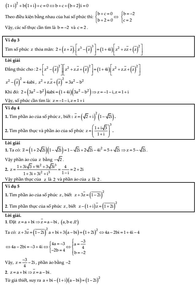 Tuyển tập 651 bài tập trắc nghiệm số phức cơ bản và nâng cao - Nguyễn Bảo Vương