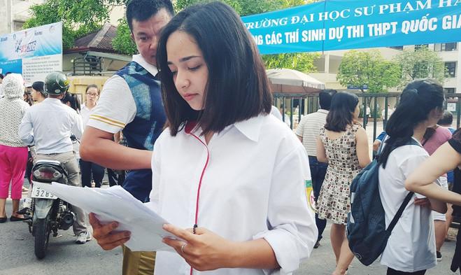 Bộ GD chính thức công bố điểm sàn đại học 2017