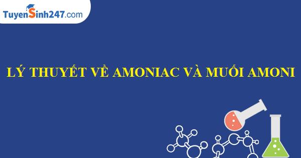 Lý thuyết về amoniac và muối amoni
