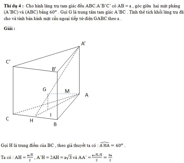 Bài toán thể tích khối đa diện (có lời giải chi tiết)
