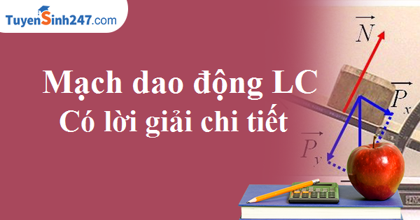 Bài toán về mạch dao động LC ( Có lời giải chi tiết)
