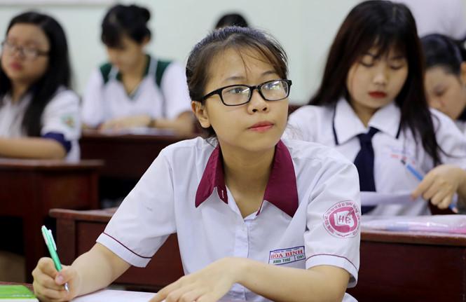 Môn toán đã có thí sinh đạt 10 điểm thi thpt 2018