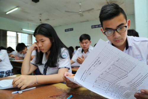 Đề thi THPTQG 2019 dự kiến gồm cả kiến thức lớp 10 đến 12