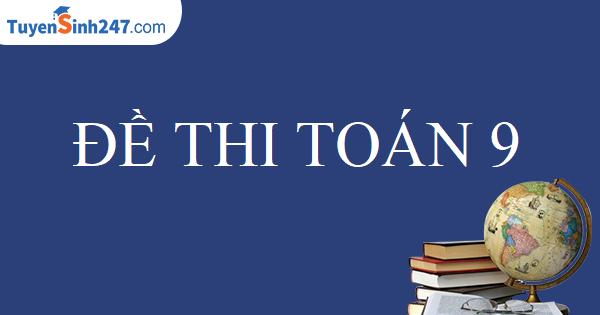 Đề thì tuyển sinh vào 10 tỉnh Thanh Hóa năm 2004 - 2005